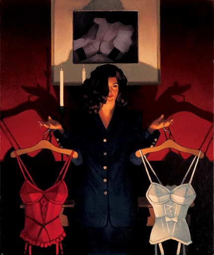 Jack Vettriano Heaven or Hell The Sweetest Choice