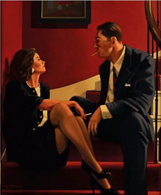 Jack Vettriano - Playing The Party Game