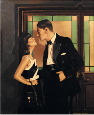 Jack Vettriano - The Awful Truth