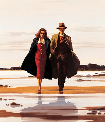 Jack Vettriano - The Road To Nowhere