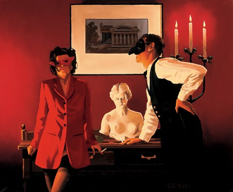 Jack Vettriano The Sparrow and the Hawk