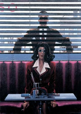 Jack Vettriano Theres Always Someone Watching You