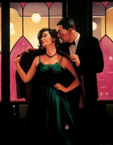 Words of Wisdom Jack Vettriano Limited Edition Print