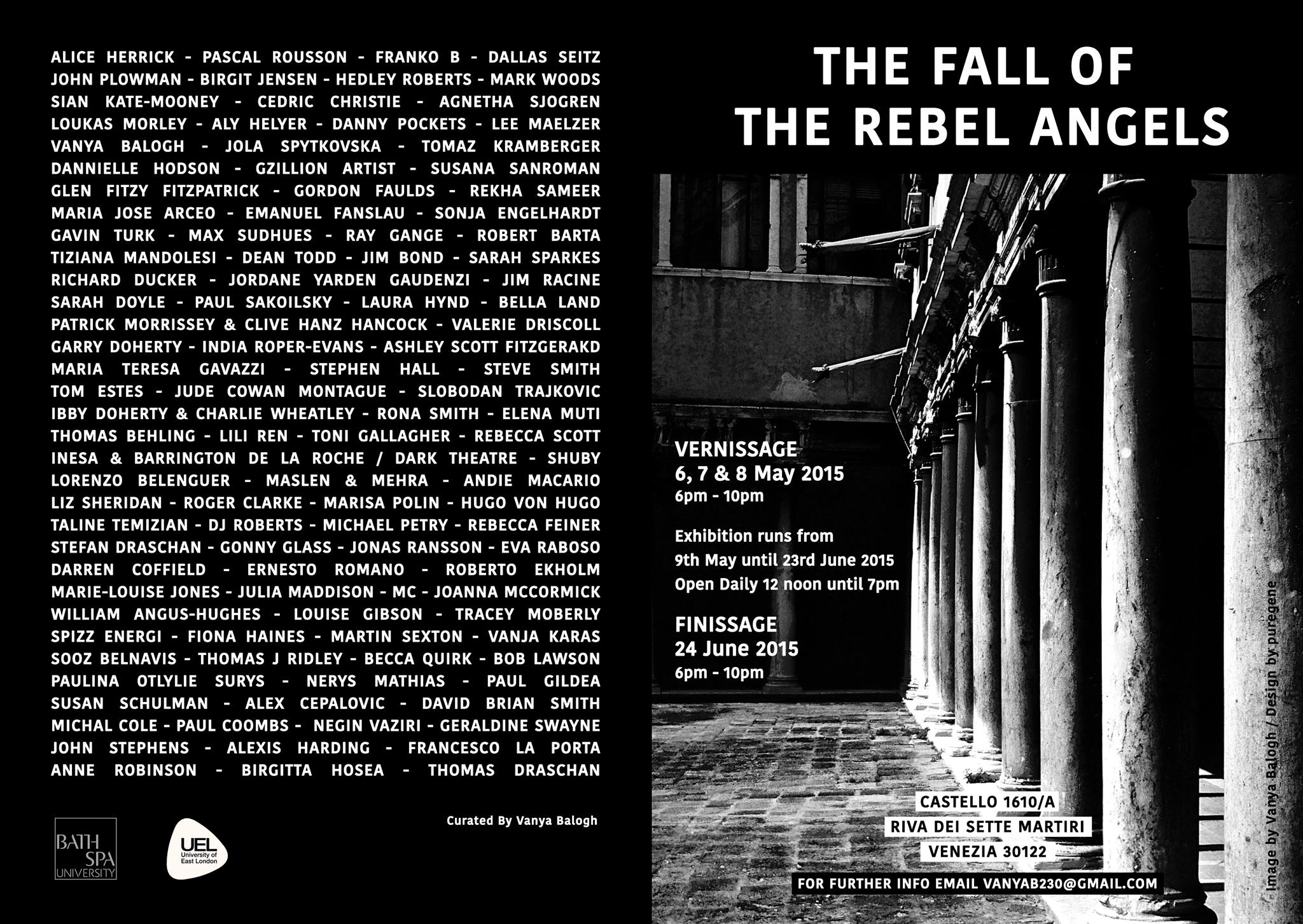 The Fall of the Rebel Angels Exhibition in Venice 2015