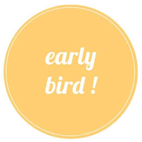 EARLY BIRD - GLOSS LEVRES - Jeudi 7 septembre  2017 Horaire : 19h30 - 20h30