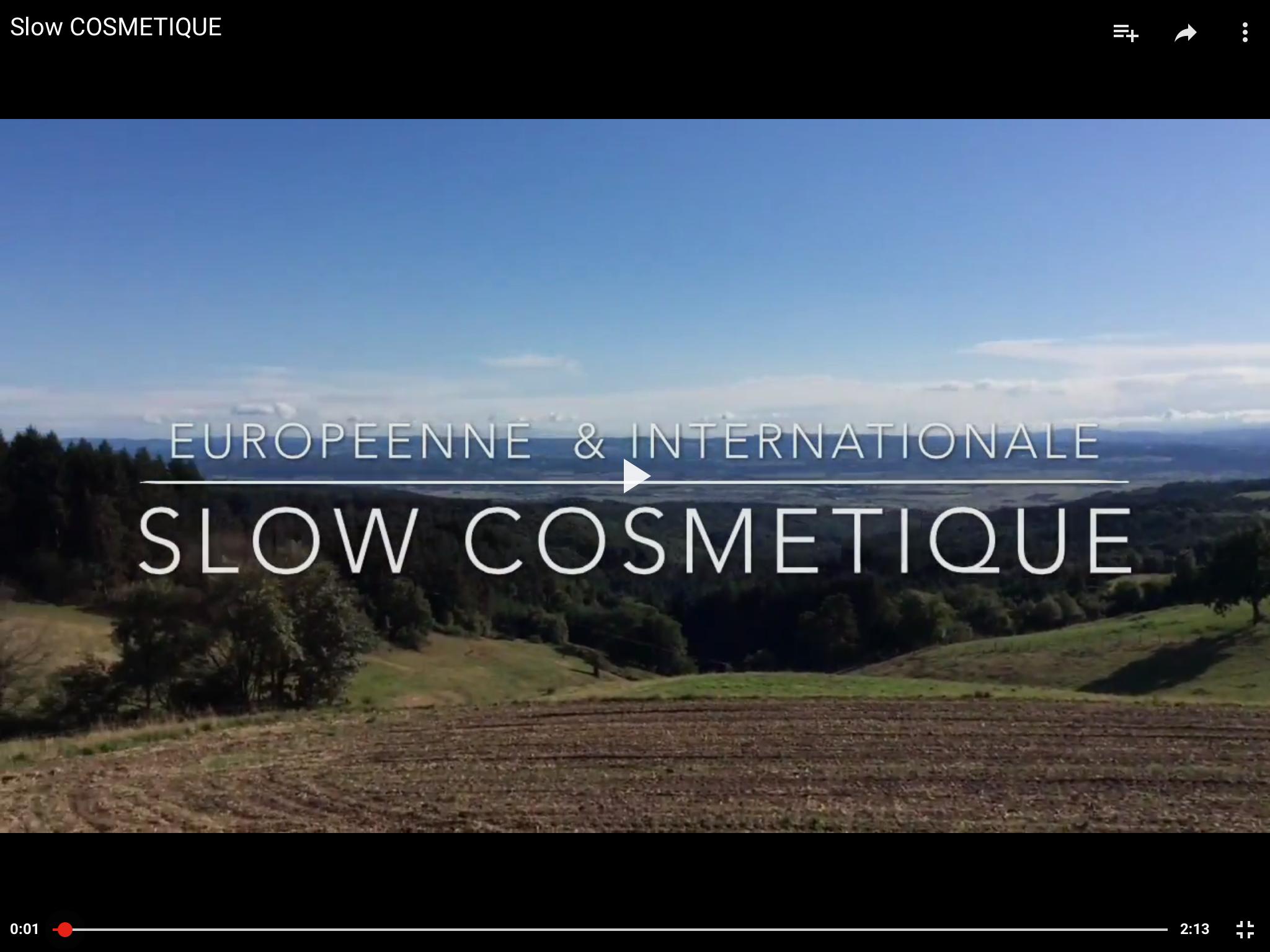 Slow Cosmetique Julien Kaibeck Ateliers de la Souris Verte PARIS STAGE FORMATION