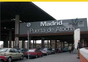 Atocha station taxis