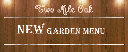 NEW GARDEN menu