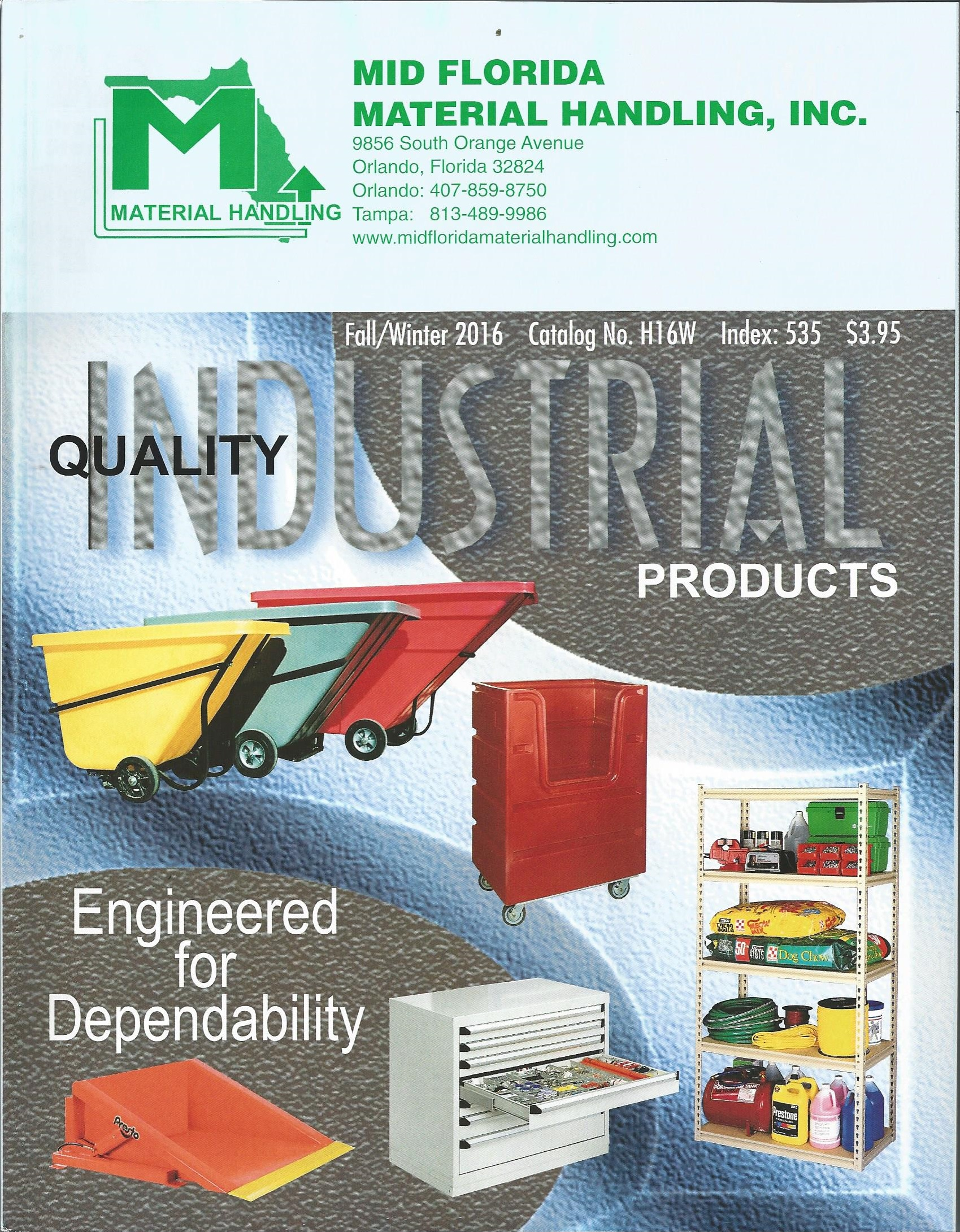 Image of Mid Florida Material Handling Catalog