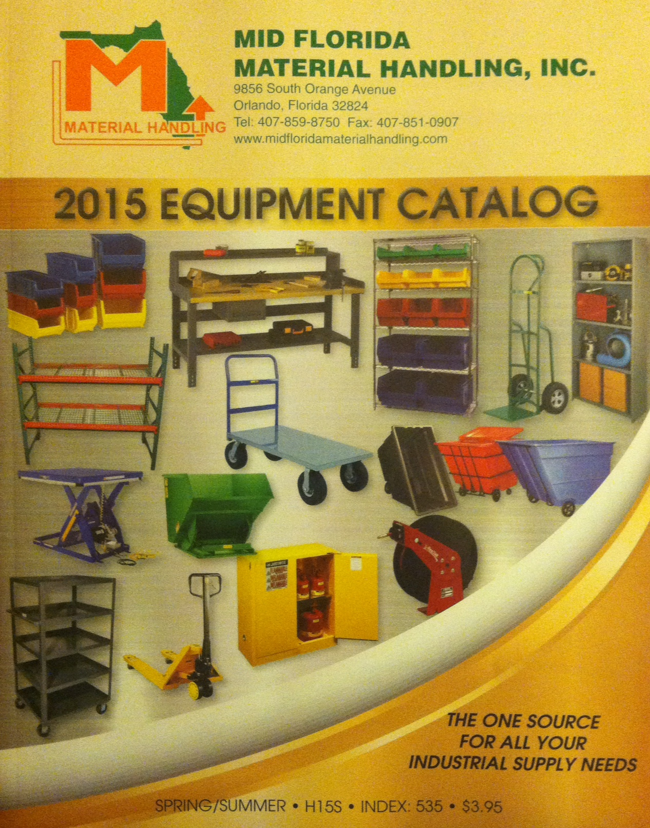 #1 Warehouse Catalog Cover