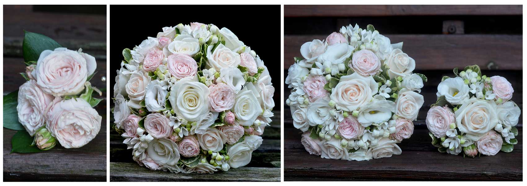 Fiori by lynne wedding flowers southampton bouquetsbuttonholes elegant white and blush pink bouquets and buttonhole mightylinksfo