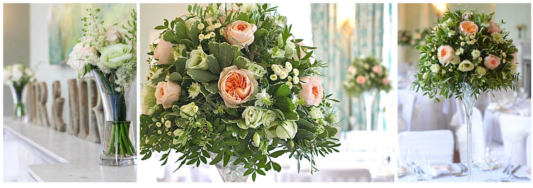 summer wedding with david austin roses at old alresford house hampshire