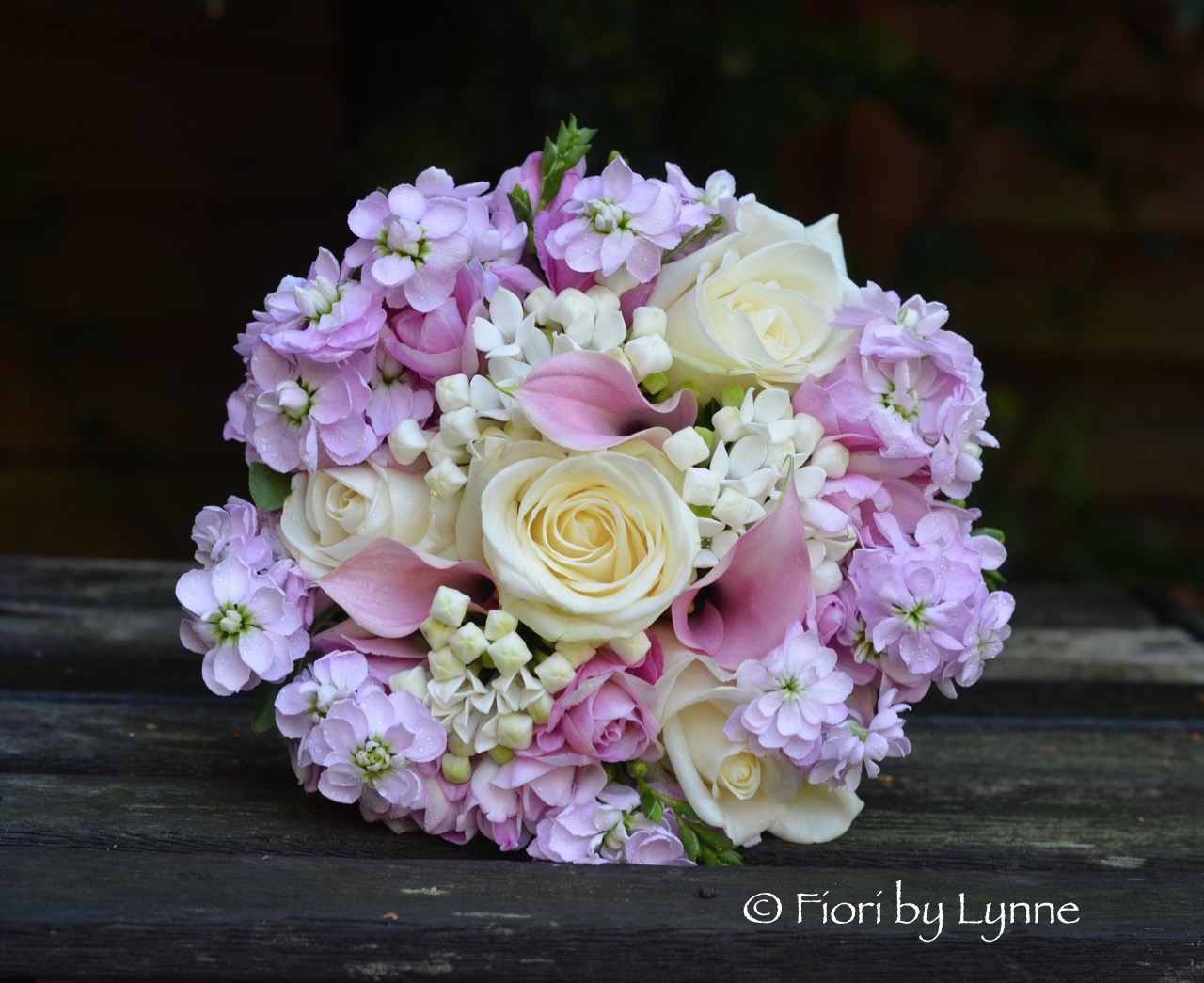 Kathryns Dusky Pink And White Wedding Flowers Houghton Lodge