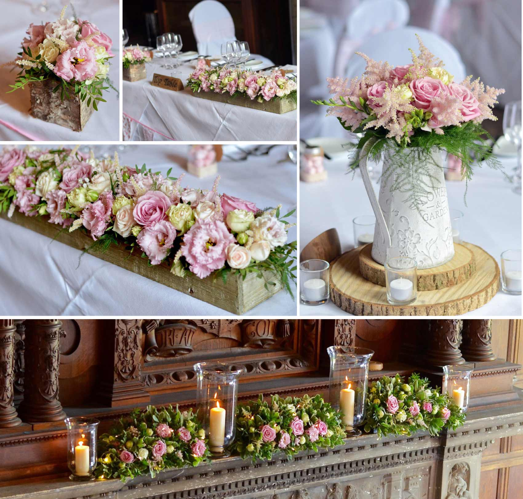 Fiori by lynne wedding flowers southampton venue flowers church and reception flowers at st marys private school southampton hampshire junglespirit Images