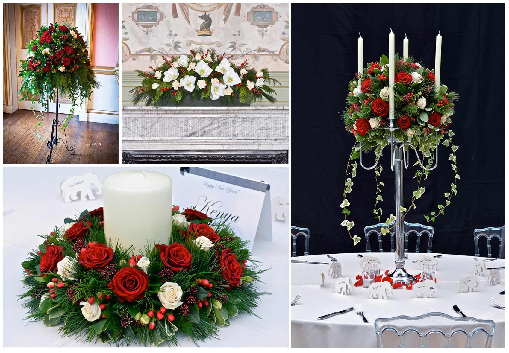 Fiori by lynne wedding flowers southampton venue flowers winter wedding flowers avington park winchester hampshire junglespirit Images