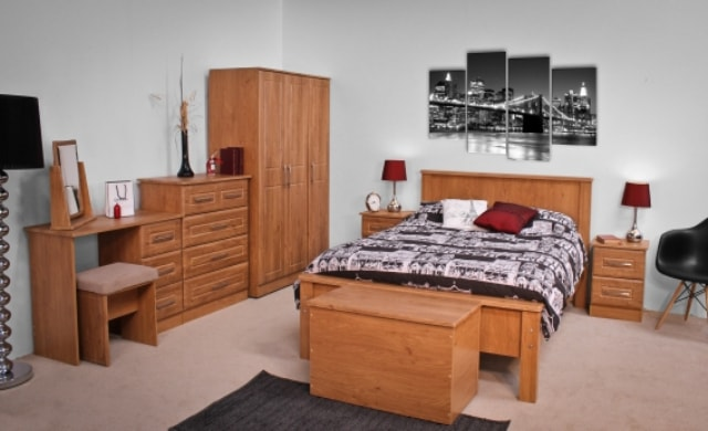 Classic Range, Nore Bedroom Range in Oak