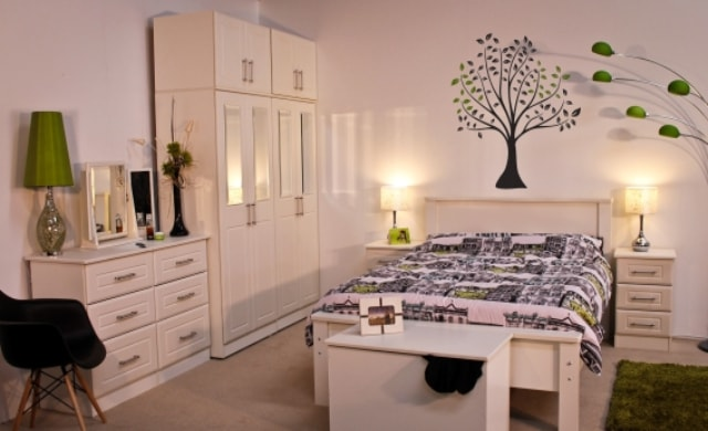 Classic Range, Boyne Bedroom Range in Ivory