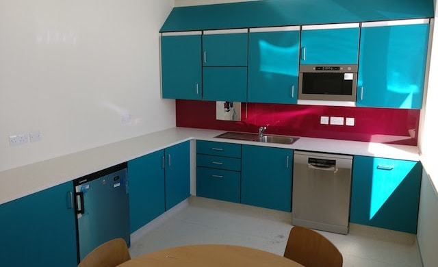 National Ambulance Base Project Kitchen Area