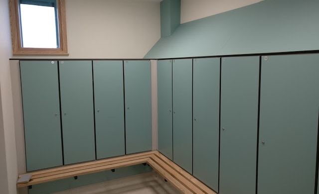 National Ambulance Base Project Locker Room