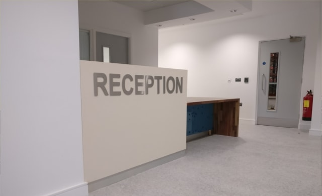 HSE Distribution Centre Project Reception Area