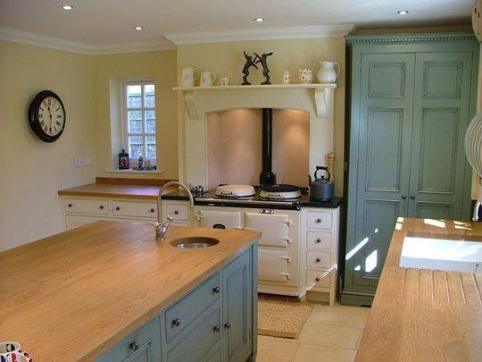 Solid Timber Worktop, Cedarwood Kitchens, Bedrooms & Home Interiors
