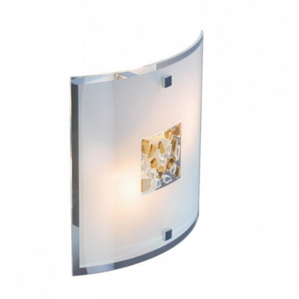 Curved Square Crystal Wall Light, Cedarwood Kitchens, Bedrooms & Home Interiors