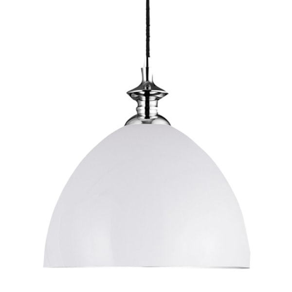 Wide Hanging Matte Glass Ceiling Light, Cedarwood Kitchens, Bedrooms & Home Interiors