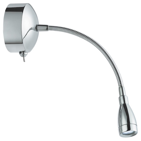 Chrome Flexible Reading Light, Cedarwood Kitchens, Bedrooms & Home Interiors