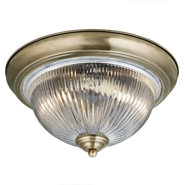 Brass Ribbed Glass Diffuser Light, Cedarwood Kitchens, Bedrooms & Home Interiors