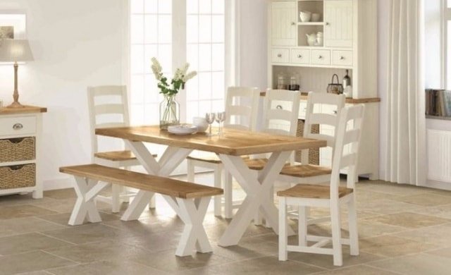 Norfolk Dining Chair EUR149 Bench EUR229 Table 19m EUR549 Special Offer 4 Chairs EUR1349