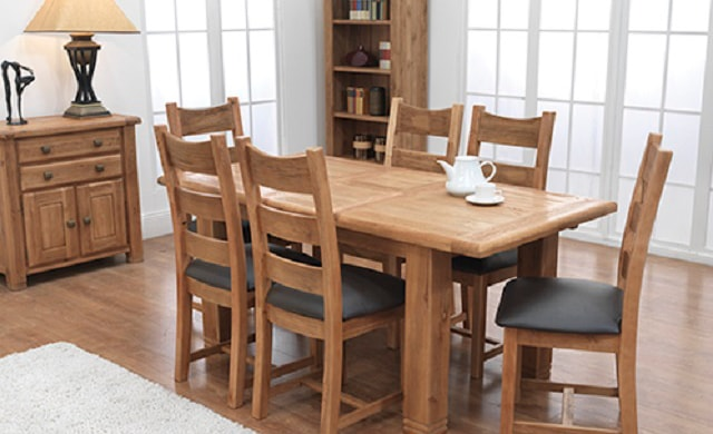 Danube Dining Table Chair Padded Or Solid Seat U20ac120. Ext. Table U20ac599 Large  Ext. Table U20ac499 Small