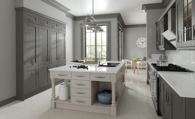 Cedarwood Painted Kitchens