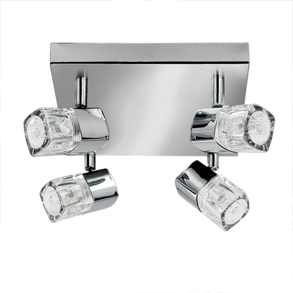 Chrome 4 Light Ceiling Light, Cedarwood Kitchens, Bedrooms & Home Interiors