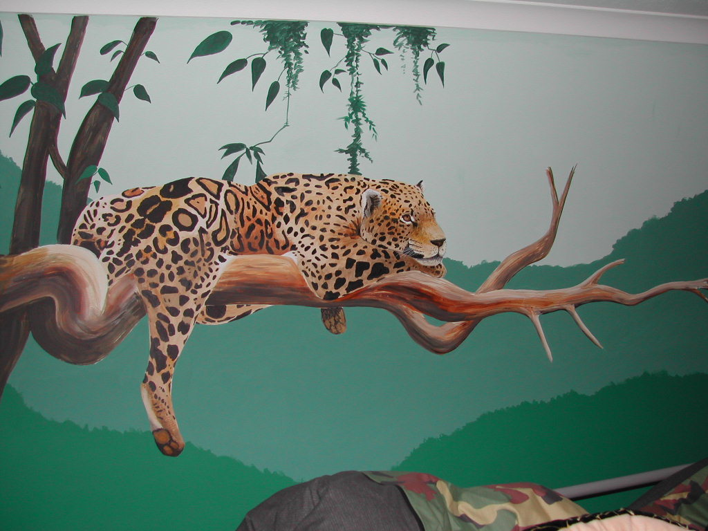 wall murals by Helen Adams Art
