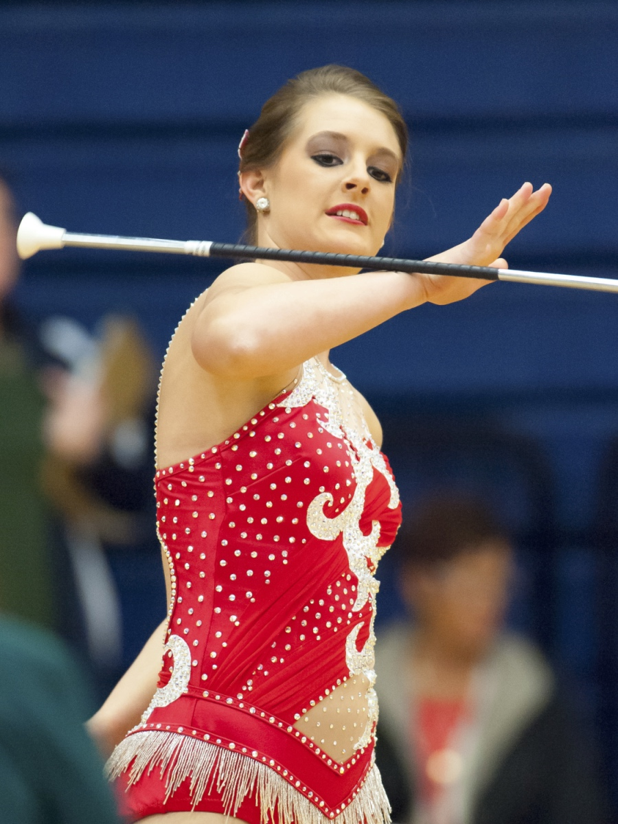 Beth Maddox Feature twirler at Tyler JR College