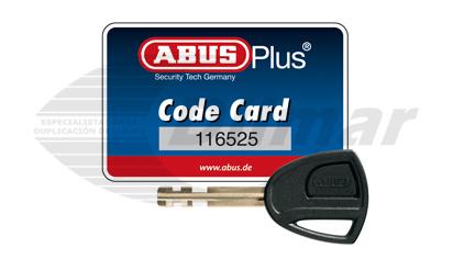 Llave ABUS X-Plus