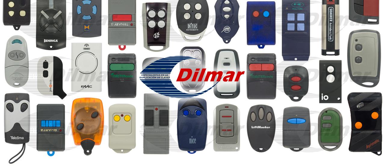 Dilmar especialistas en duplicado de llaves y mandos - Mandos puerta garaje ...