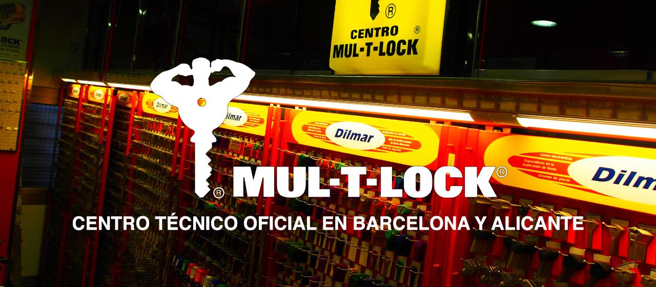 Mul-T-Lock Barcelona. Mul-T-Lock Alicante.