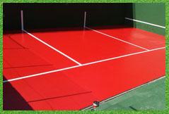 instalacion pavimento pista tenis