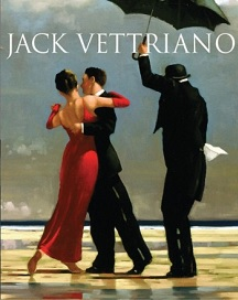 A Life Signed Book Jack Vettriano