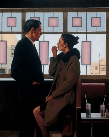 Jack Vettriano - Drifters - Limited Edition Print