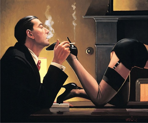 Fetish Jack Vettriano Limited Edition Print