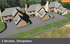 new build homes shrophire
