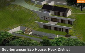New Build Eco House Peak District