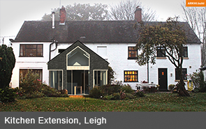 Cheshire Design and Build Architects Extension