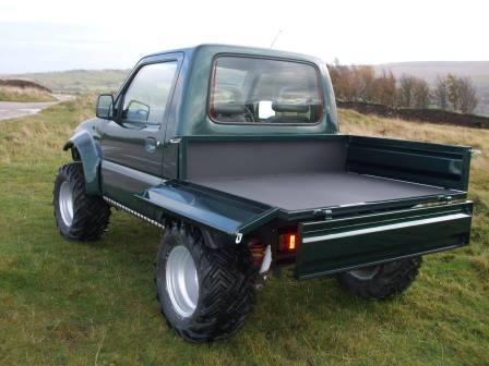 Suzuki Landmaster pickup bed