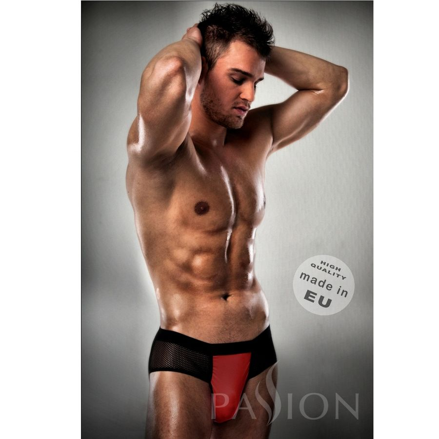 NEW JOCKSTRAP 007 ROJO / NEGRO PASSION MEN L/XL