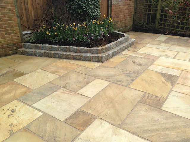 Best patio builders Weybridge, Surrey