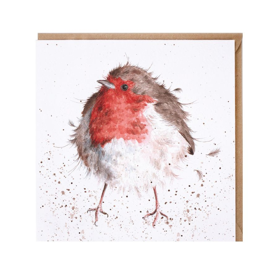 Wrendale 'Jolly Robin' Greetings Card