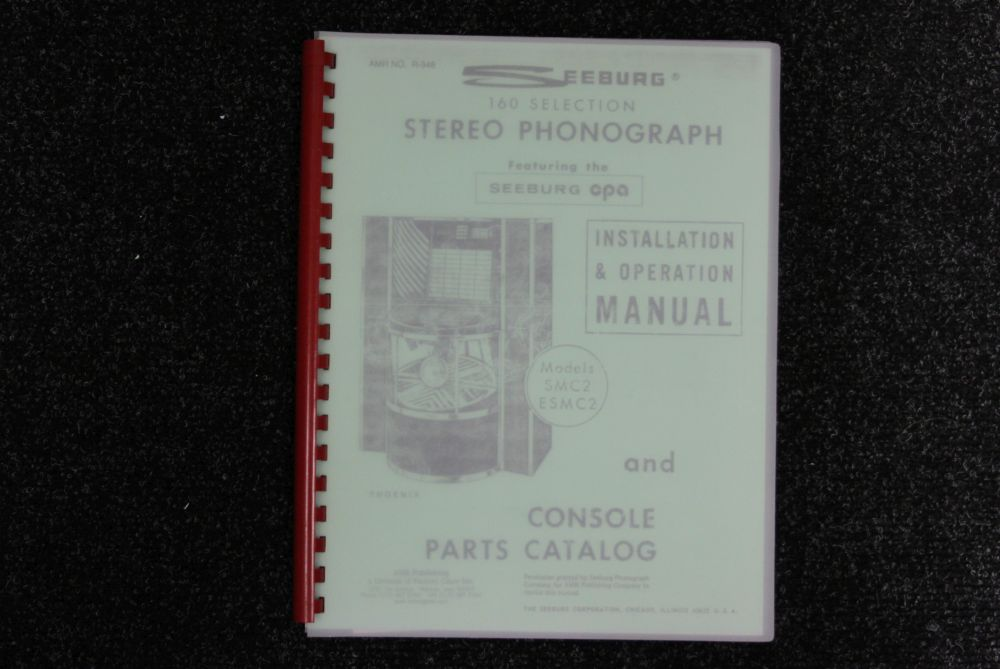 Seeburg - Installation and Operation Manual - Models SMC2, ESMC2